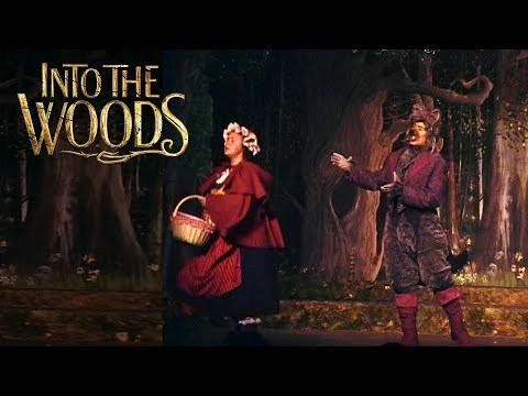HELLO LITTLE GIRL - Into the Woods LIVE! DTSings is the Big Bad Wolf! TBT