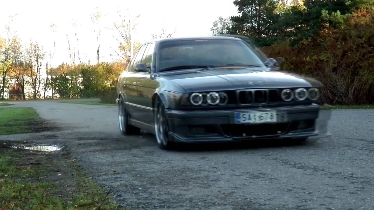 bmw e34 535i m30 with s38 itb youtube. Black Bedroom Furniture Sets. Home Design Ideas