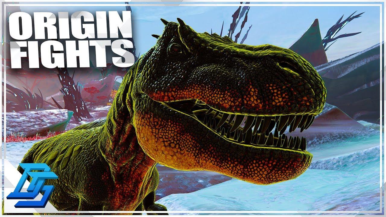 FIGHTING ORIGIN BOSSES!, PRIMAL FEAR - Ark Survival Evolved Gameplay - Part  24