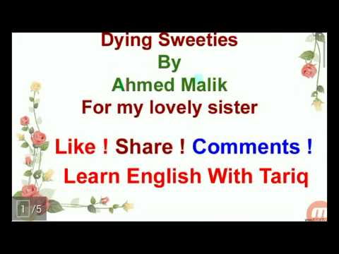 Heart Touching Lines For My Lovely Sister ~ Dying Sweeties By Ahmed Malik