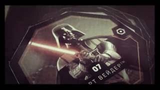 Магнит карточки звёздные войны