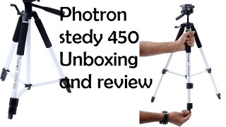 Photron Stedy 450 Tripod Unboxing & Review