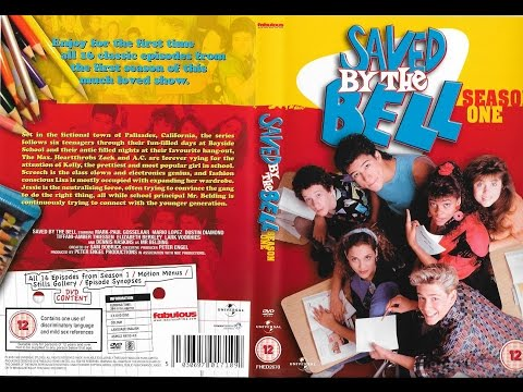 Saved By The Bell Complete Series 1-4 DVD Set Unboxing - 12-01-2017