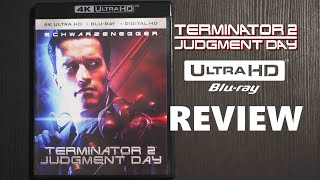 Terminator 2 4K Bluray Review | 3D