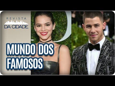 Bruna Marquezine, Nick Jonas e Neymar - Revista da Cidade (06/07/2017)
