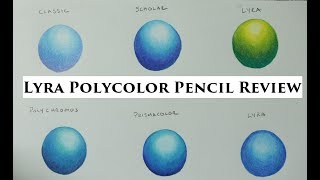 Lyra Rembrandt Colored Pencil Review