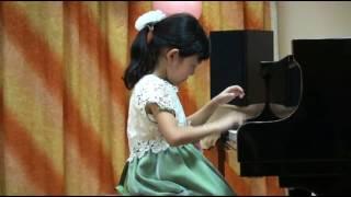 Е. Олёрская ТАНЕЦ исп. Лидия Гунгаева (5 лет, 1-й год обучения)