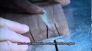 Making Dovetail Joints With A Scroll Saw (spiral Blades)