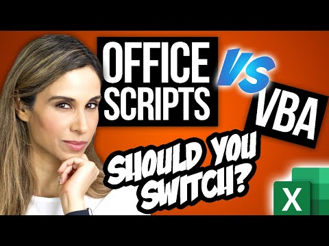 Do You Need to SWITCH from Excel VBA Macros to Office Scripts?