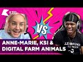 KSI VS ANNE-MARIE | DISS BATTLE 😱🤣