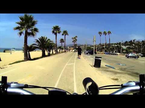 (2013H03) Venice Beach to Pacific Palisades Bike Path - Видео онлайн