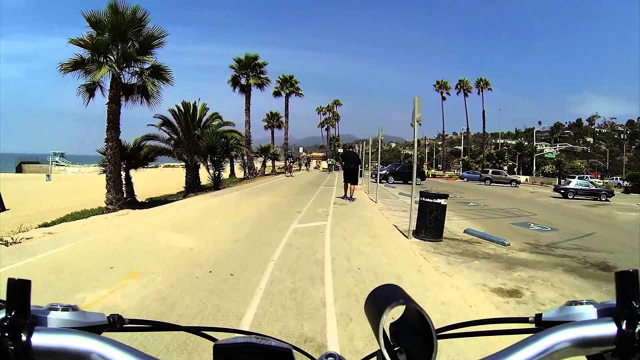 2013h03 Venice Beach To Pacific Palisades Bike Path Youtube