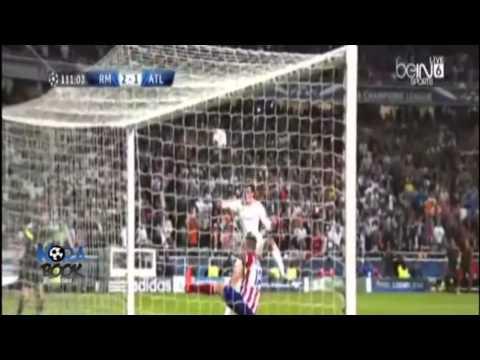 real madrid vs atletico madrid 2014 final hafid derradji {HD]