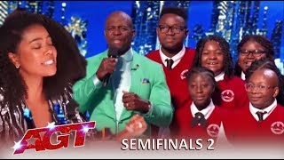 Detroit Youth Choir: Judges In TEARS After a Knockout Performance! | America's Got Talent 2019