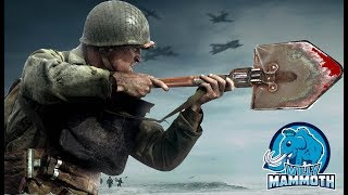 Willy Mammoth Smashes Skulls with Shovels in Call of Duty WWII