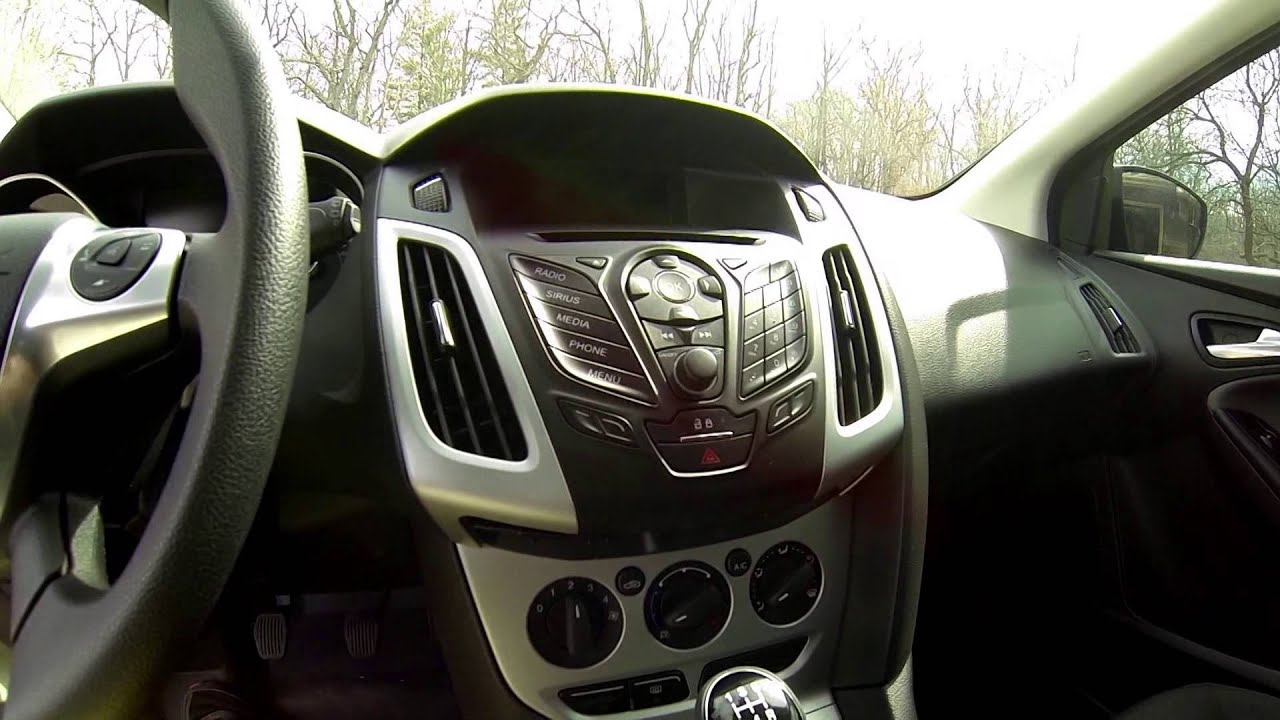 2014 Ford Focus Amp Install  YouTube