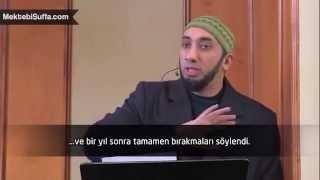 Barmenlik Yaparken Müslüman Oldu  Nouman Ali Khan   Türkçe Altyazılı