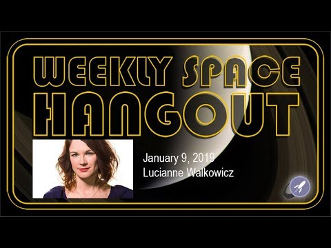 Weekly Space Hangout: Jan 9, 2019: Lucianne Walkowicz