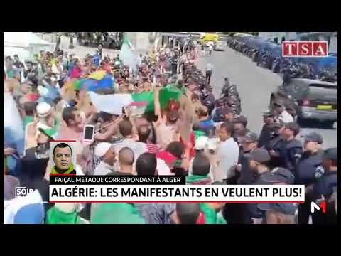 Algérie: les manifestants en veulent plus