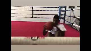Erickson Lubin sparring Footage & ab workout