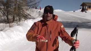 ★Карвинг Лыжи★ Урок 4.1 Первые шаги на горных лыжах. Привыкание