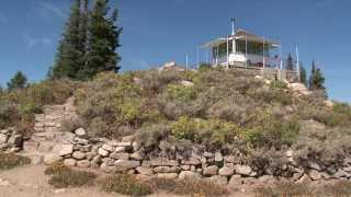 Deadwood Lookout in Idaho