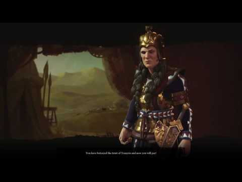 CIV 6 [Tomyris] Declaration Of War!
