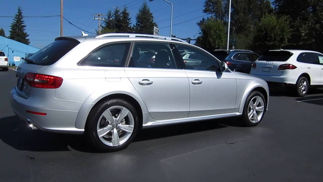2014 audi allroad ice silver stock 109482 youtube. Black Bedroom Furniture Sets. Home Design Ideas