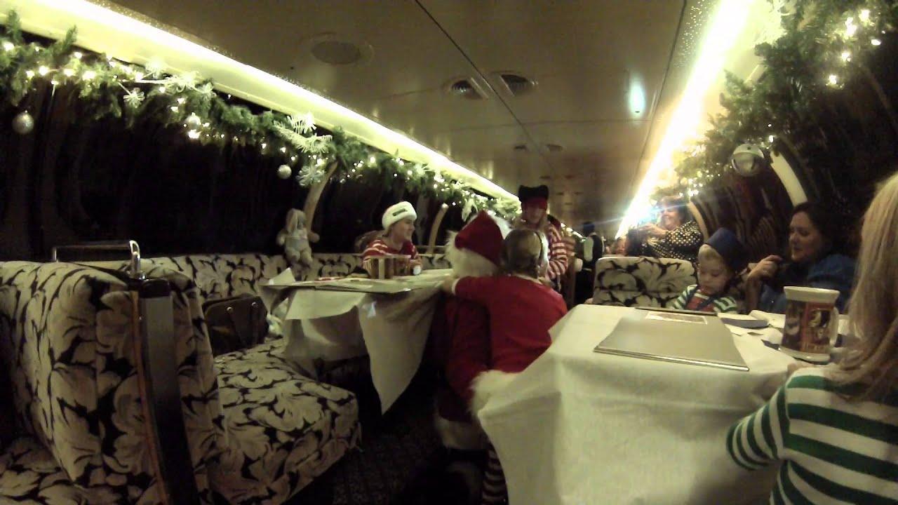 Polar Express Train Ride in Palestine, TX - YouTube