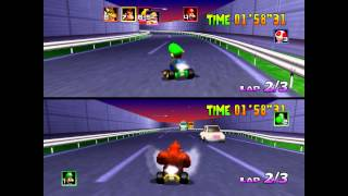 Do you ever wonder what Mario Kart 64 would have been like if the g...