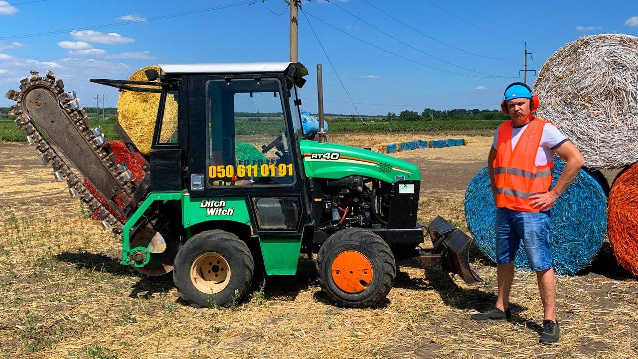 Historias divertidas sobre tractor y camión