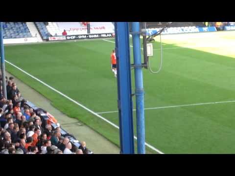 Luton Town 1-0 Lincoln City Lge Kyle Perry Oscar Performance 17th Sep 2011.MOV