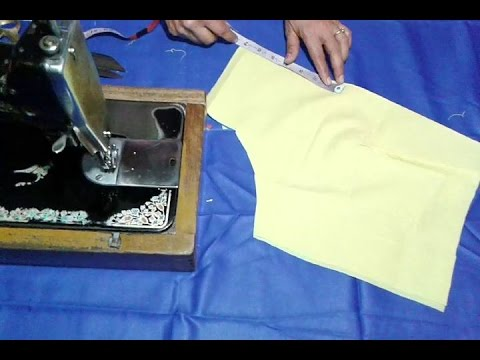 Blouses Cutting In Hindi - New Images Yuruimages.Co