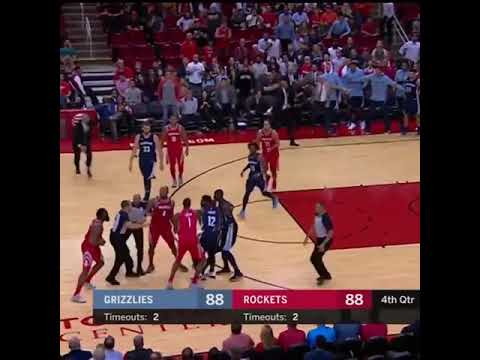 ce86202bfd4c James Harden Gets Tripped And Almost Fight Mario Chalmers - YouTube