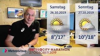 SwissCityMarathon - Lucerne 2019 Wetterprognose
