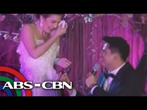 Bandila: Zoren, Carmina tie knot in surprise wedding