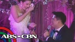 Zoren, Carmina tie knot in surprise wedding
