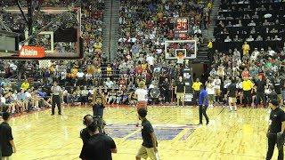 LaMelo Ball Lakers NBA Summer League Halftime Shoot Out