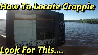 How To Locate HUGE Schools Of Summer Crappies… (I Show You The Spot)