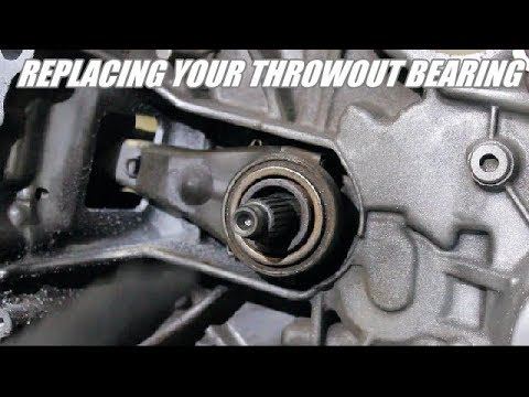 How to replace a Honda Throwout bearing / Clutch release bearing