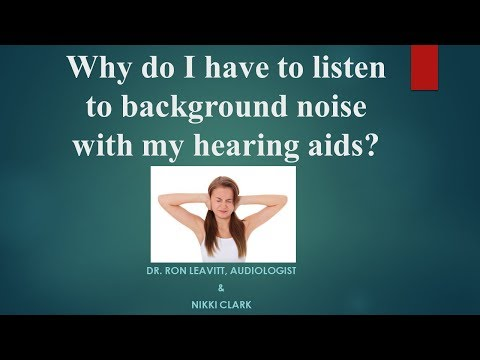Hearing Background Noise Through Your Hearing Aids