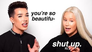 iggy azalea dragging james charles