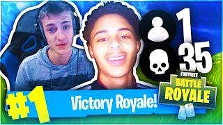 MY BROTHER IS THE CONSOLE VERSION OF NINJA ! (32 KILL SQUAD WIN!?) BUILDS FASTER THAN MYTH ON PS4!