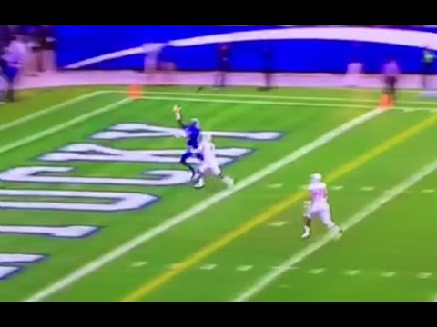 Wide Receiver Javess Blue One-Handed Grab Touchdown (Kentucky vs La Monroe 2014)