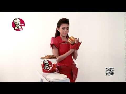周秀娜再撐KFC 8層巴辣雞腿包