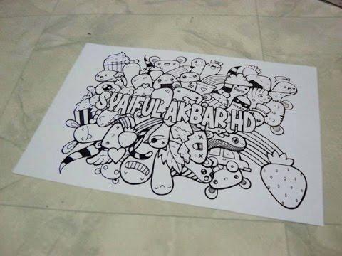 Cara Membuat Doodle Keren Beserta Nama Kita Menggunakan