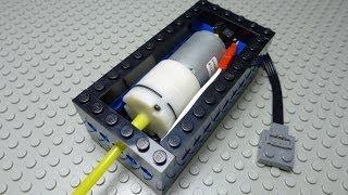 Alternative Power Functions Pump for LEGO Pneumatics
