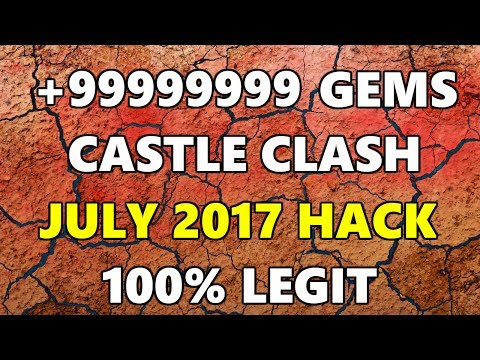 Castle Clash 2017 Gem And Hero Hack! 100 % In Every Dungeon And Free Heroes!