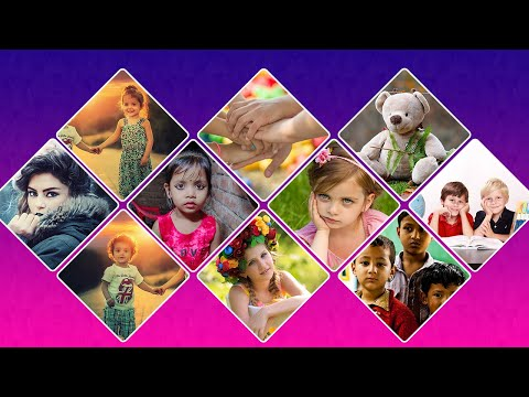Collage Making In Photoshop In Hindi, Collage Photo Frames