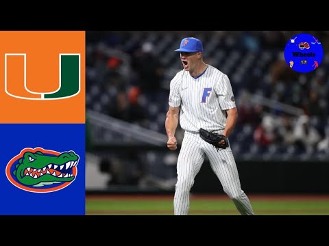 Download #21 Miami vs #1 Florida Highlights (Game 1) | 2021 College Baseball Highlights